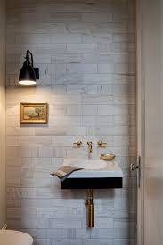 Powder Room Sink Powder Room Tile Designs Powder Room Contemporary With Floating