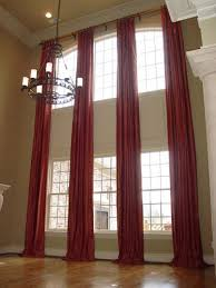 Curtain Ideas For Curved Windows Best 25 Tall Window Treatments Ideas On Pinterest Long Curtains