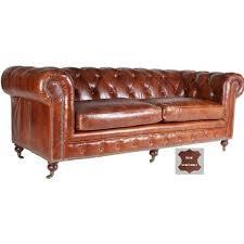 largeur canapé canapé 100 cuir marron foncé roulettes atlantic chair
