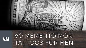 60 memento mori tattoos for men youtube
