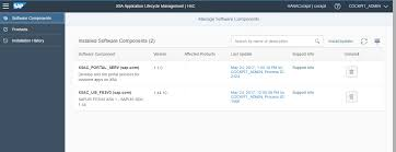 sap hana 2 0 sps 01 what u0027s new application lifecycle management