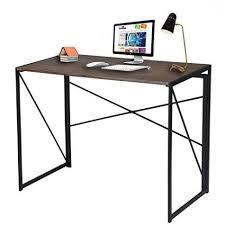 36 Inch Computer Desk Foxhunter Foldable Computer Desk Folding Laptop Pc Table