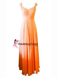 orange maxi bridesmaid dress style a1029 weddingoutlet com au
