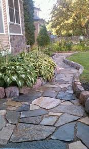 Backyard Stone Ideas by Best 25 Flagstone Patio Ideas Only On Pinterest Flagstone