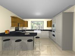 galley shaped kitchen layout