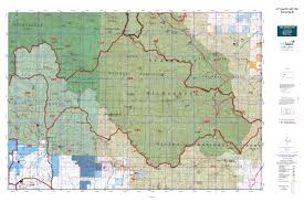 Montana Topographic Map by Mt Deer Elk Gmu 280 Map Mytopo