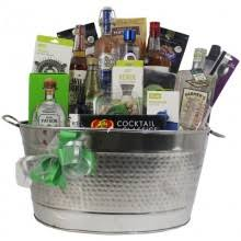 martini gift basket build a basket spirit and liquor gift baskets