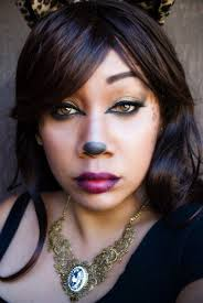 glamour kitty leopard halloween makeup tutorial easy and