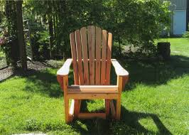 Gliding Adirondack Chairs Adirondack Chairs And Benchese Hand Crafted For Lawn And Garden