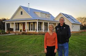 small energy efficient homes home keeps carbon footprint small sells its electricity to
