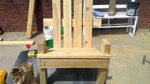 How To Build An Adirondack Chair How To Build A Kid Size Adirondack Chair Part 2 Youtube