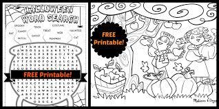 printable halloween activities u2013 fun for halloween