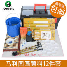get ations chinese painting pigment suit marley beginner brush calligraphy four treasures painting brush painting tool kit