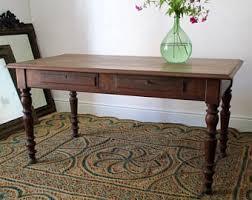Kitchen Table Etsy - Antique oak kitchen table