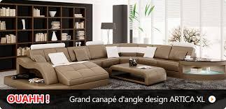 canape cuir angle design canapé pas cher canapés et mobilier design à petit prix