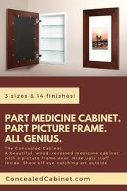 Recessed Medicine Cabinet Wood Door Recessed Medicine Cabinets With Picture Frame Doors Mirrorless