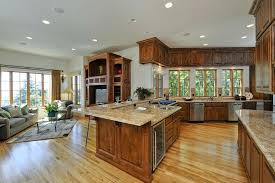 dream kitchen floor plans open floor plan kitchen living room how to turn your dream home into