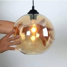 Glass Pendant Lighting Brown Glass Pendant Lights Amber Glass Pendant Light New Arrival
