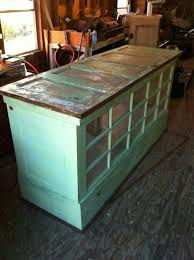 kitchen island used diy furniture kitchen island made from doors and windows we