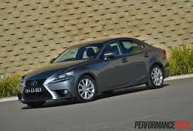 used lexus is 250 2013 lexus is 250 review video performancedrive