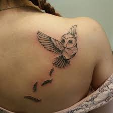 another great design for small owl tattoo for more ideas about