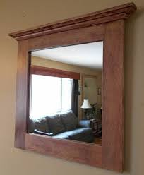 Oak Framed Bathroom Mirror Isn T This Beautiful Oak Mirror Rustic Oak