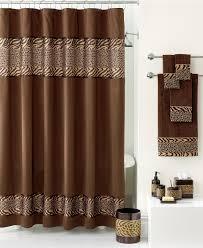 Zebra Bathroom Decorating Ideas Fresh Bathroom Ensembles Shower Curtains On Home Decor Ideas With