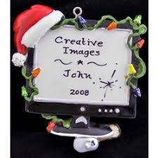 my computer personalized ornament findgift