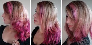 how long does hair ombre last hair romance pink hair dye fade over 3 washes rainbow hair