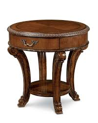Traditional Coffee Tables by Old World Round End Table