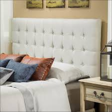 Cushioned Headboards For Beds Bedroom Magnificent Black Tufted Queen Bed Upholstered