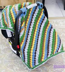 Free Carseat Canopy Pattern by Sequoia Crochet Car Seat Canopy Sewrella