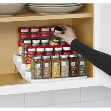 kitchen pull down spice rack wall spice rack seasoning organizer