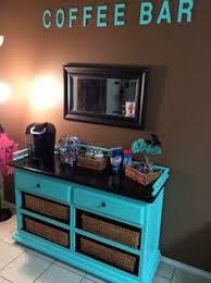 Coffee Nook Ideas Kitchen Coffee Bar Jean Anne At Home Red Furniture Redo Diy