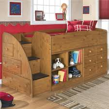 full size loft bed with storage wood u2013 home improvement 2017