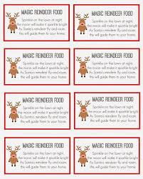 magic reindeer food holiday fun party planning and tutorials