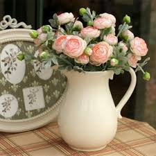 artificial flowers for home decoration xm1 1 branch 3 heads tea rose pink home decoration artificial