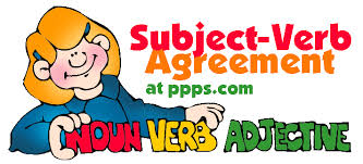 subject verb agreement fun with english