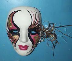 ceramic mardi gras masks mardi gras wall masks ceramic mardi gras ceramic masks