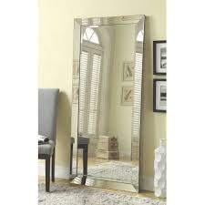 coaster company silver beveled mirror walmart com