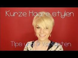 Kurzhaarfrisuren Stylen by The 25 Best Kurze Haare Stylen Ideas On