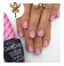 pink ombre nails using opi gelcolor spring 2015 hawaii collection