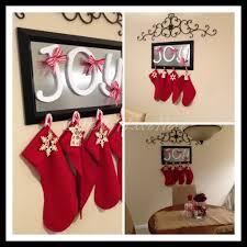 interior u0026 decor christmas tree stocking holder silver stocking