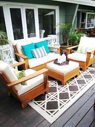Outdoor Area Rugs For Decks New Outdoor Deck Rugs Startupinpa