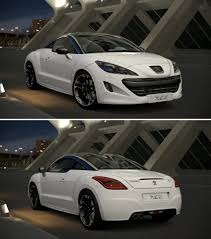 peugeot car garage peugeot rcz u002710 by gt6 garage on deviantart