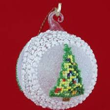 hand painted christmas ornaments hand painted tin christmas