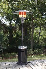 46000 btu patio heater fire sense stainless steel u0026 black enamel commercial patio heater