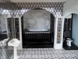 art deco bathroom tiles uk bathrooms through the ages art deco style in miniature misc