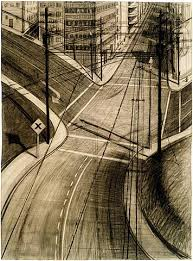 Wayne Thiebaud Landscapes by Wayne Thiebaud Drawing Owu