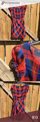 blue and red plaid dress shades of blue red and yellow make a